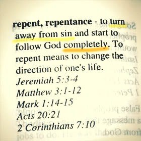 Repent! Repent! It is not too late! Do it now!