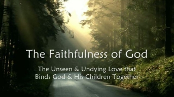 the_faithfulness_of_god