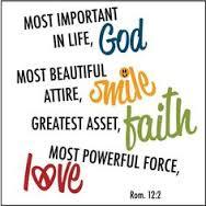 Lean on God!