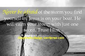 storm afraid