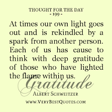 sparks of gratitude