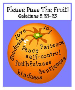 holy spirit fruit