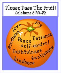 holy spirit fruit
