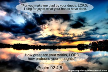 hope in Gods promises