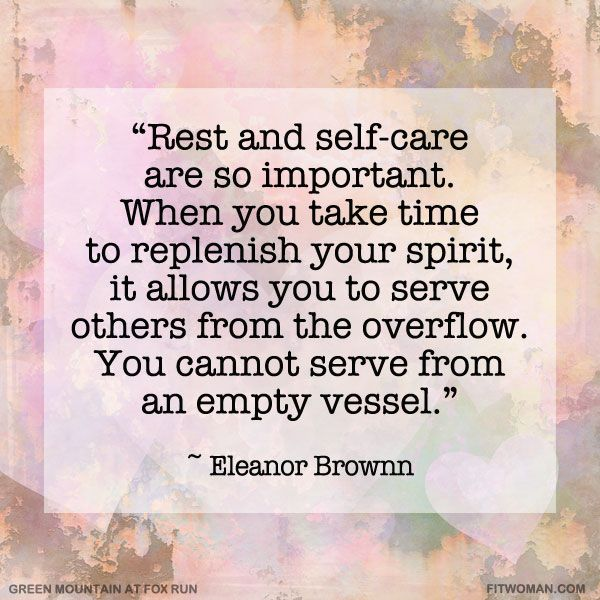 you cannot serve from an empty vessels