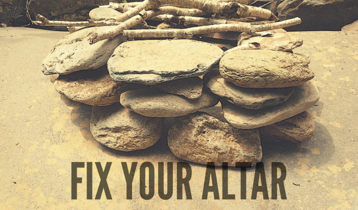 fix your altar