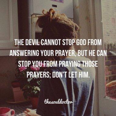 pray still
