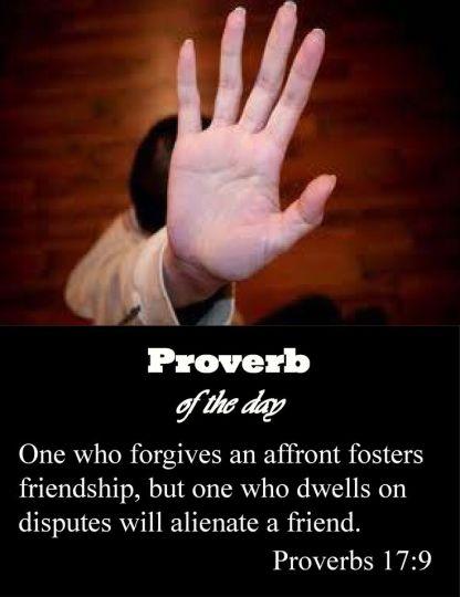proverbs 17 9