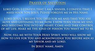 prayer of salvation
