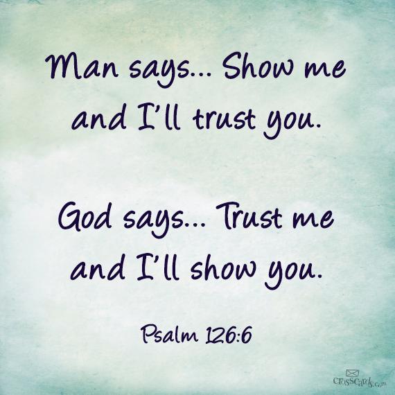trustin in God