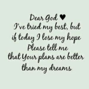 God's better plan