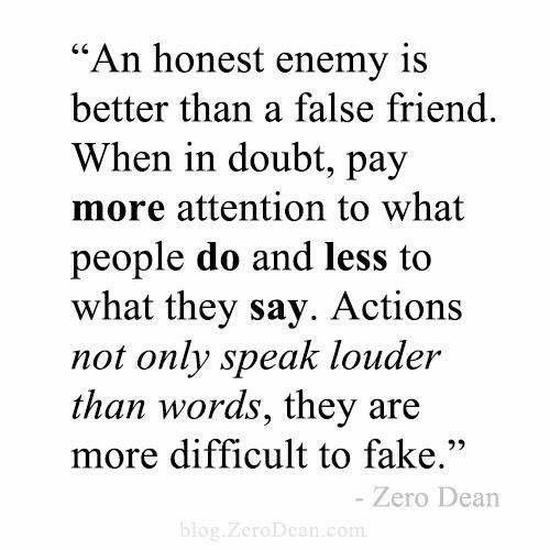 honest enemy