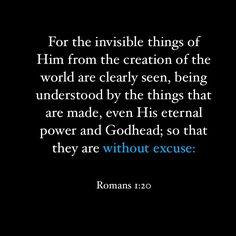 Romans 1 20