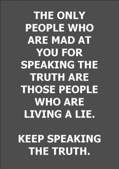 speak truth