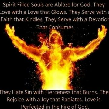 love in the fire of God