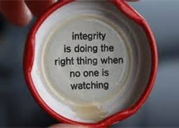 integrity when no one sees